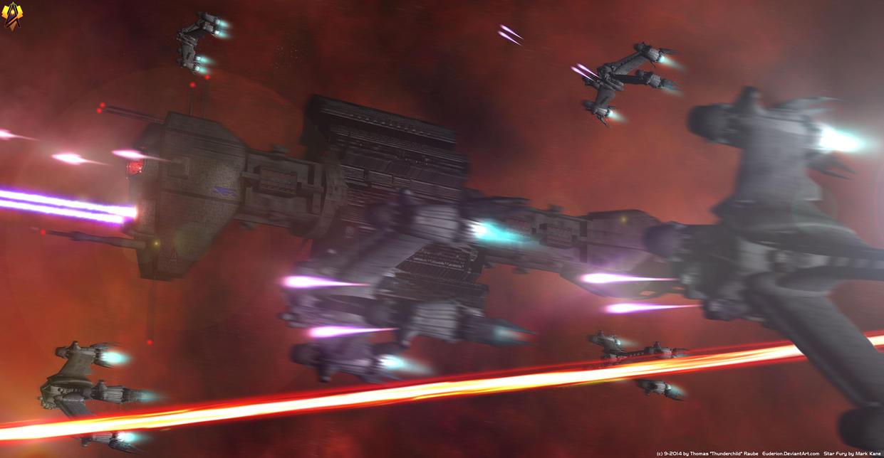 Omega Destroyer by Euderion