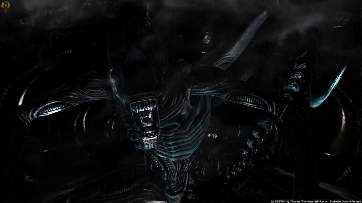 xenomorph warrior by euderion on deviantart