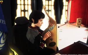 Admiral V'Lara by Euderion