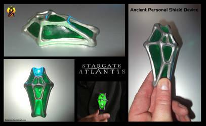 Stargate Prop Ancient Shield Device