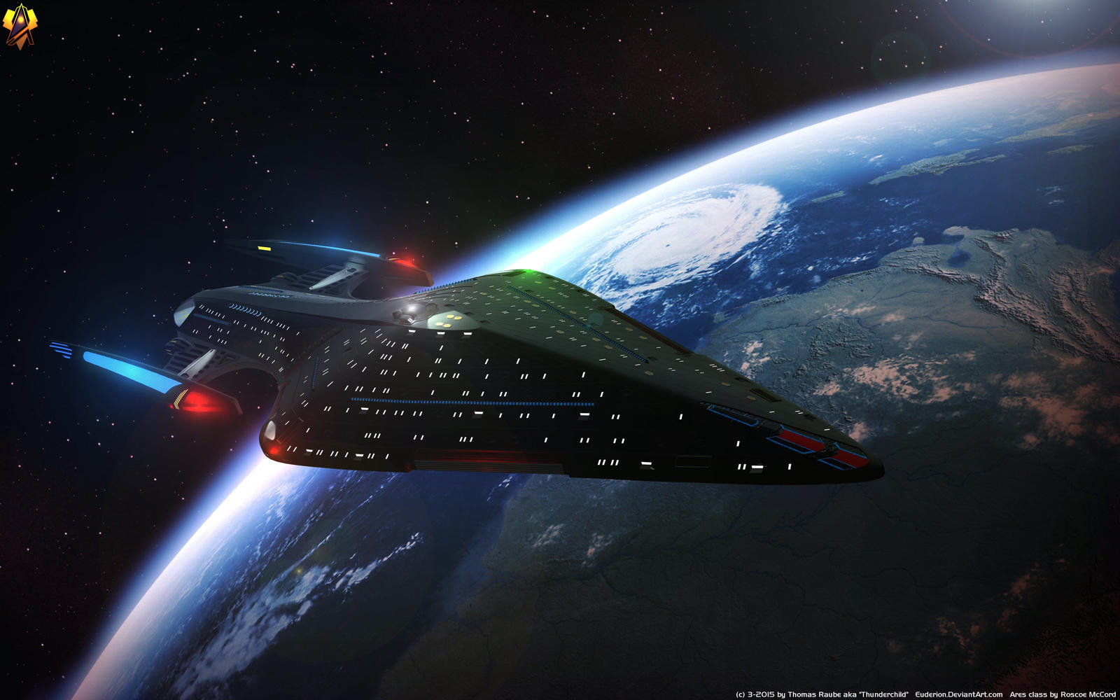 25 Th Century Ares Class By Euderion On Deviantart