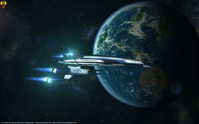 Mass Effect Normandy Wallpaper