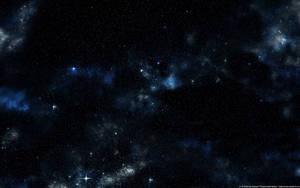 Simply Blue Starfield by Euderion