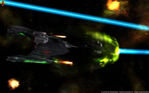 Klingon Advanced Cruiser by Euderion