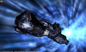 Aurora class hyperspaced