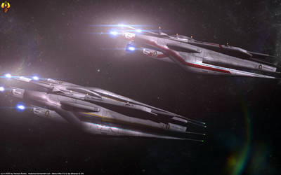 Cerberus Command Cruisers by Euderion