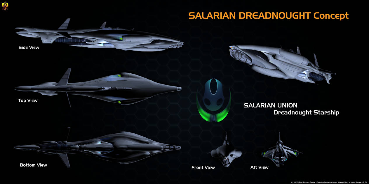 Salarian Dreadnought Overview By Euderion On DeviantArt