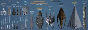 SciFi Starship Size Comparison