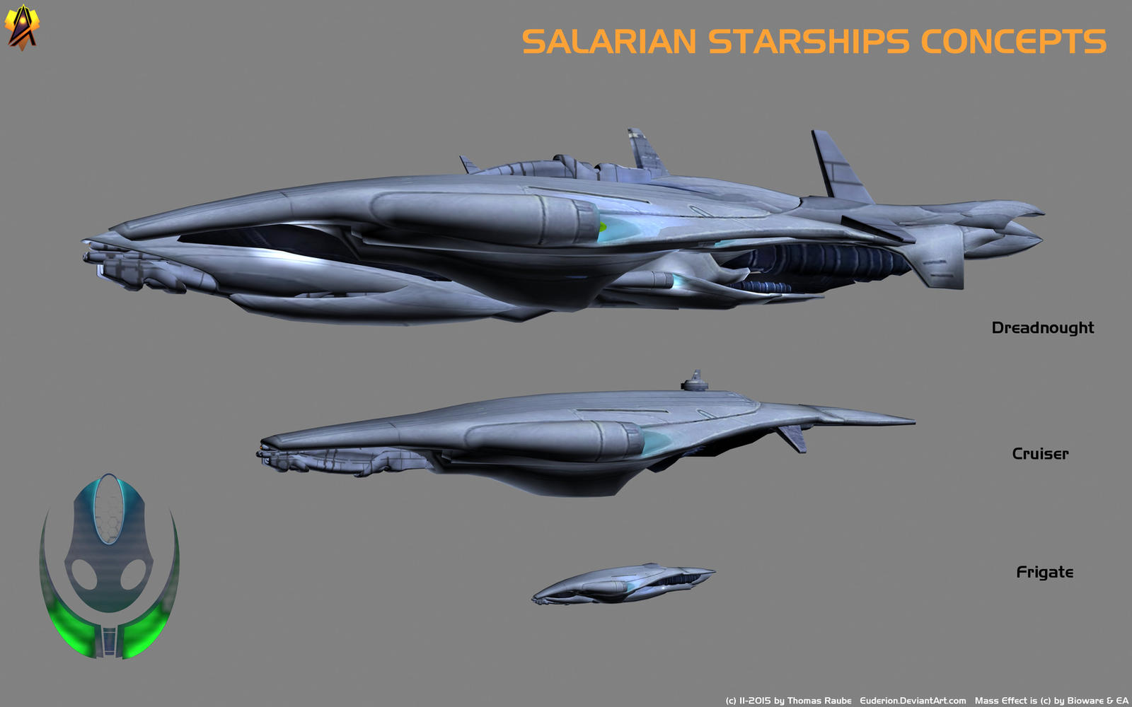 salarian starship concept by euderion on deviantart