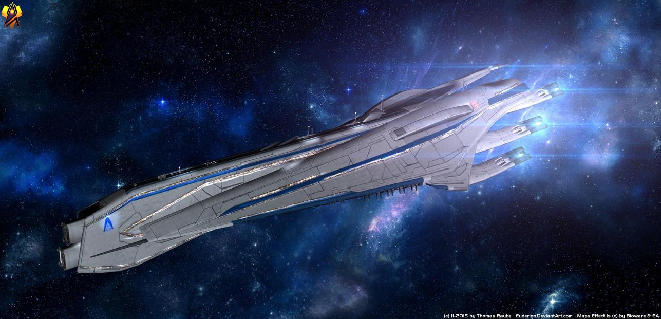 Alliance Carrier Tereshkova class by Euderion
