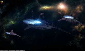 Asari Light Cruisers