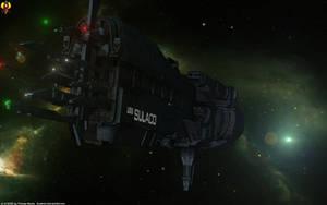 Conestoga class USS Sulaco by Euderion