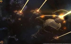 Dominion Warfleet by Euderion