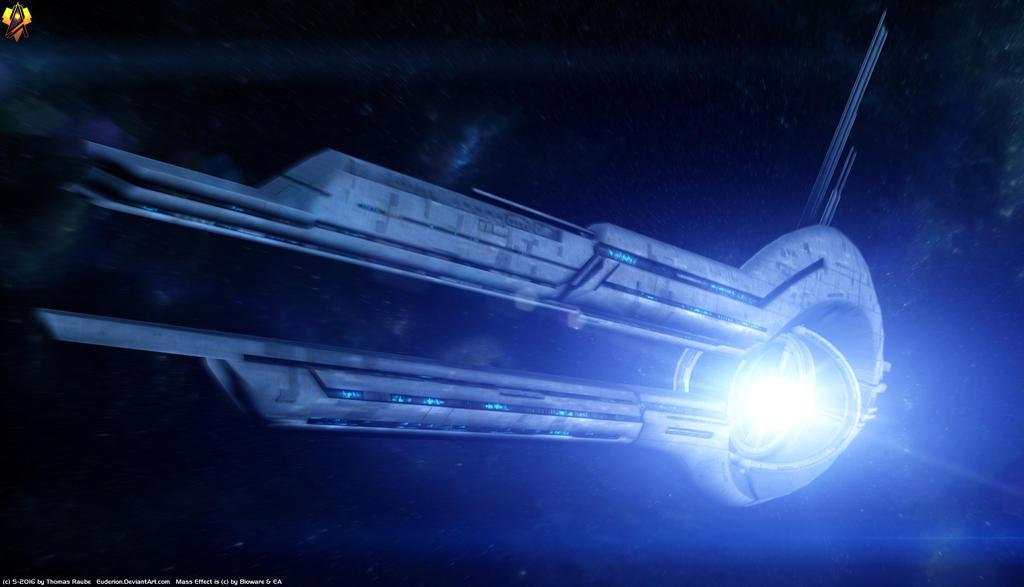 Mass Effect Mass Relay Ring