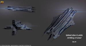 Artillery Cruiser Concept W.I.P.