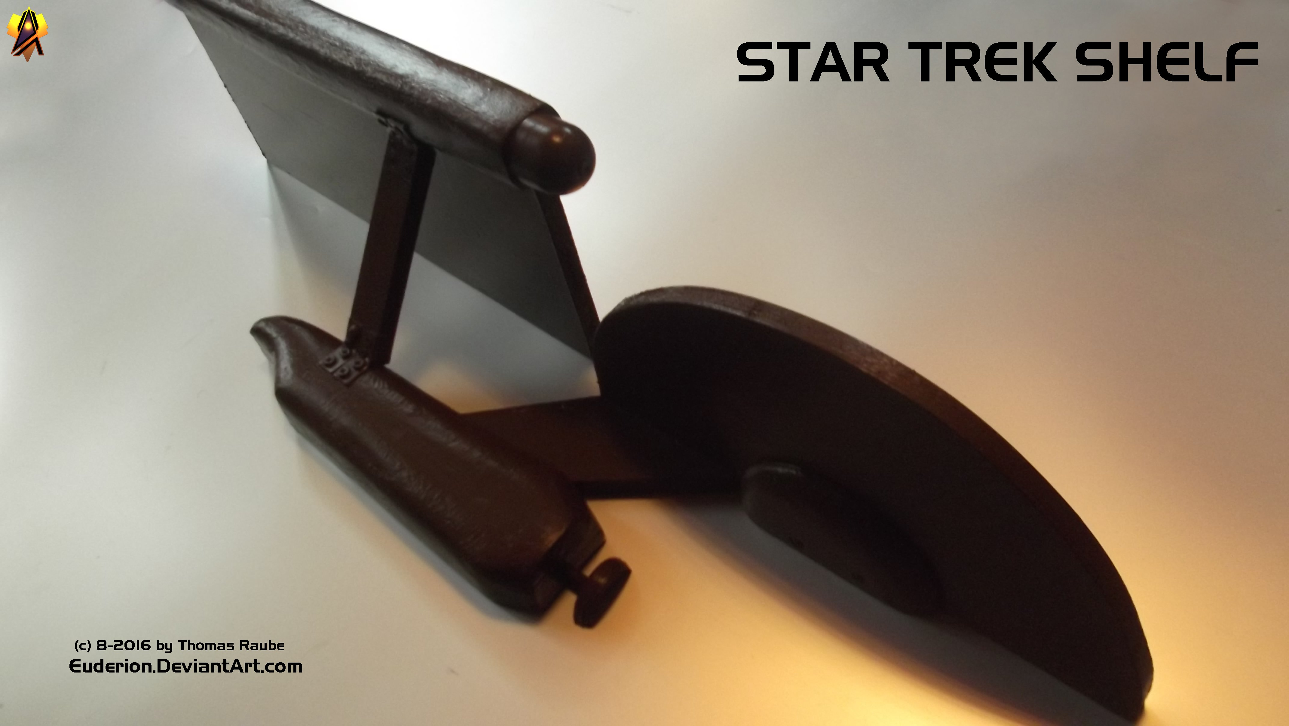 Star Trek Shelf 2 by Euderion