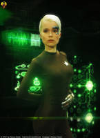 Liberated Borg - Seven of Nine Cosplay by Euderion