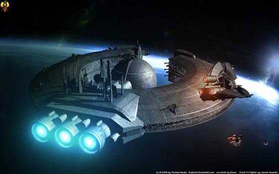 Confederate Lucrehulk class Carrier