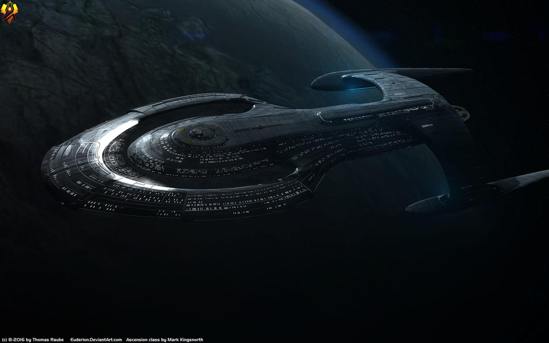 Federation Ascension Class By Euderion On Deviantart