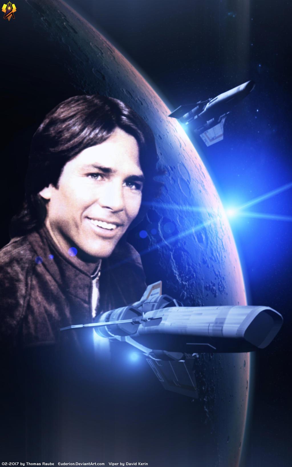 Young William Adama | Battlestar Galactica: Razor | Pinterest ...