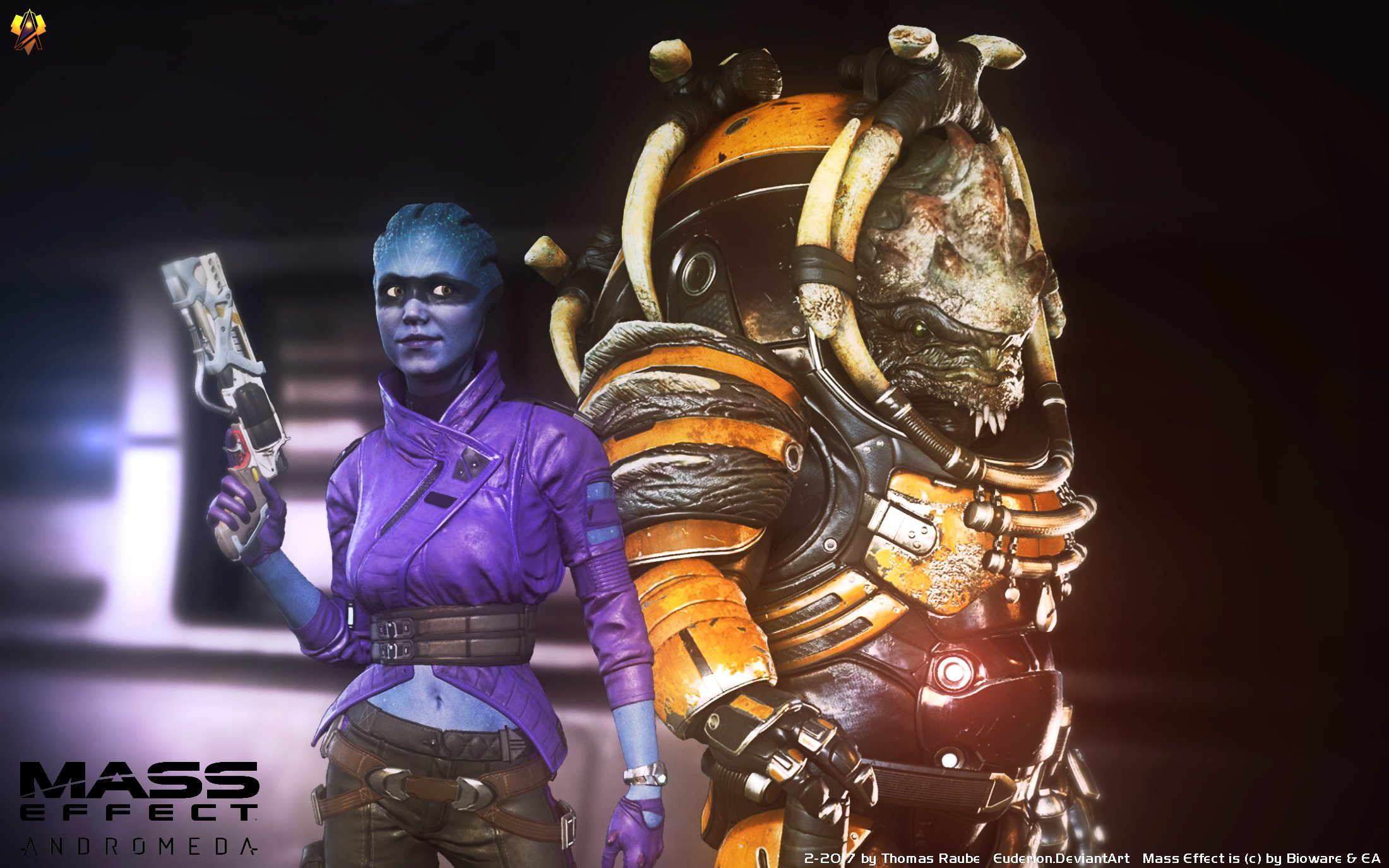 Mass Effect Andromeda Teammates