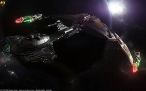Mek'hlar class Destroyer by Euderion