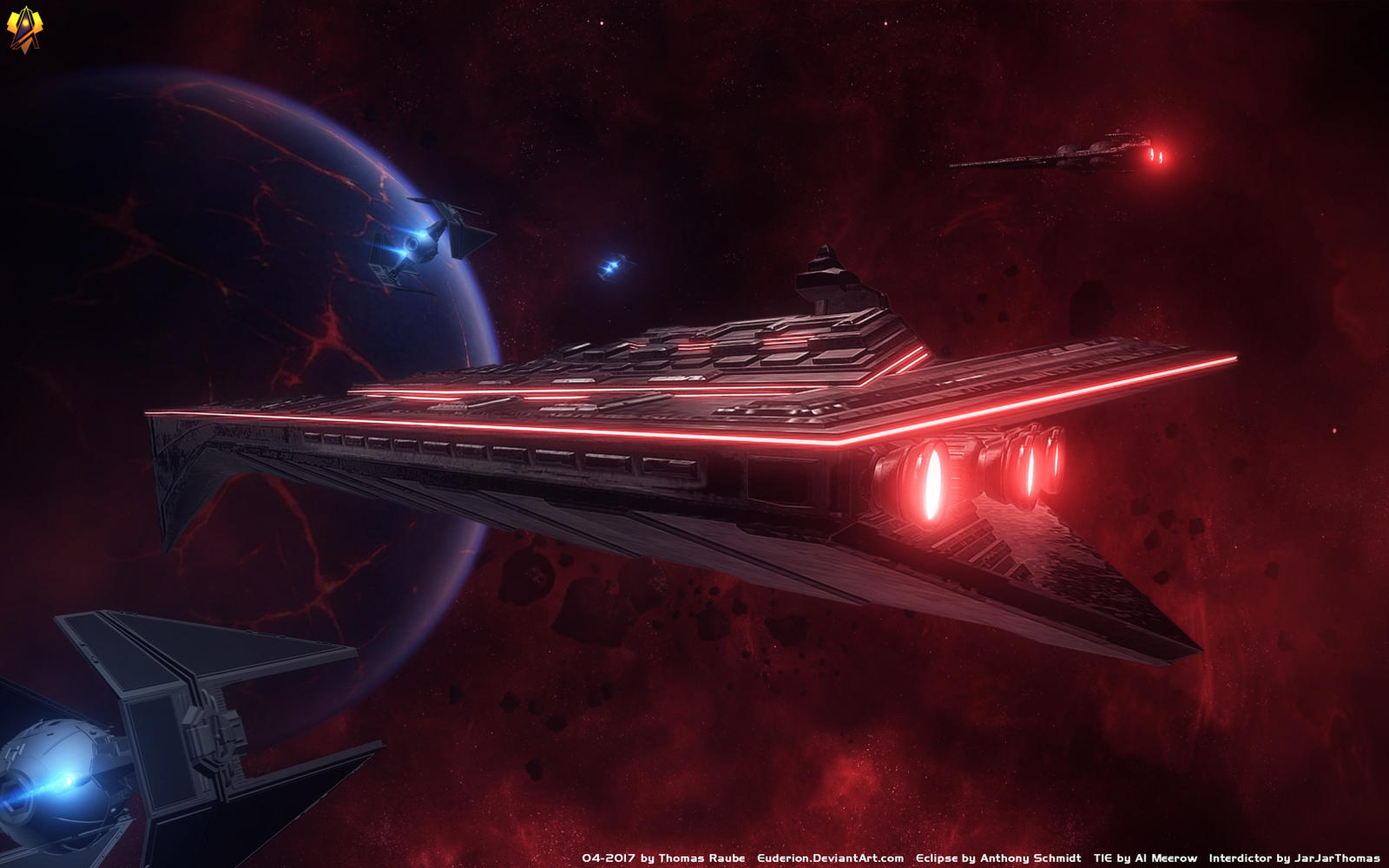 Eclipse Super Star Destroyer By Euderion On Deviantart