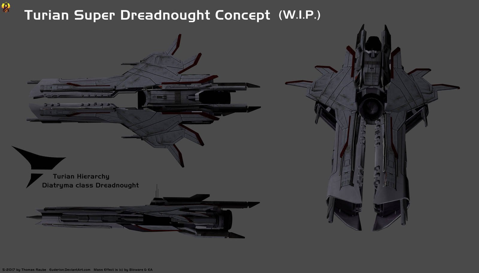 Turian Super Dreadnought Concept By Euderion On Deviantart