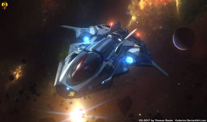 Star Citizen Valkyrie Fighter by Euderion