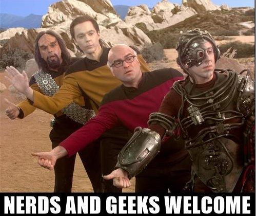 Big-bang-theory-star-trek-nerds-and-geeks-welcome