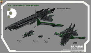 Volus Military Starships by Euderion