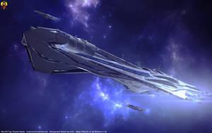 A Alliance Behemoth - SSV Sagan by Euderion