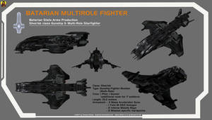Batarian Fighter Overview by Euderion