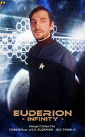 Ensign Clinton Fox - USS Euderion Conn Officer by Euderion