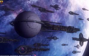 Quarian Flotilla Liveship by Euderion