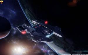 Starfleets Rapier class by Euderion