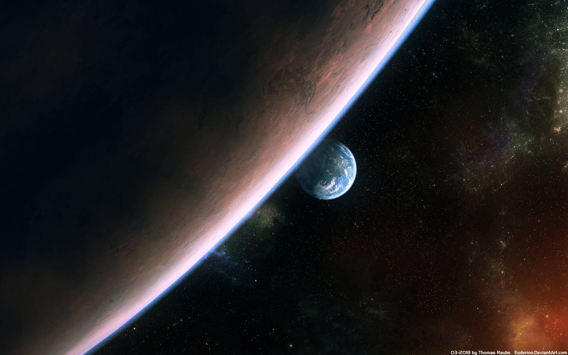 Hiding Planet (Stock) by Euderion