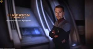 Lieutenant Commander Aigan DiFalco by Euderion