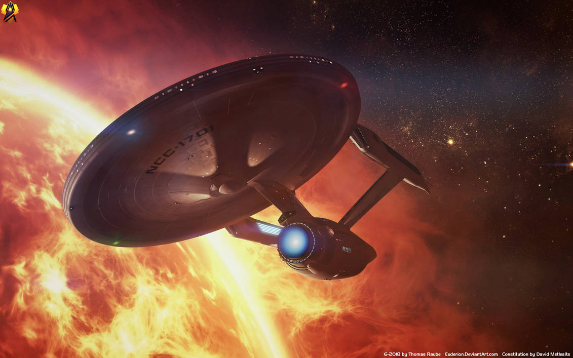 Sunny Day - 52 Years Star Trek by Euderion