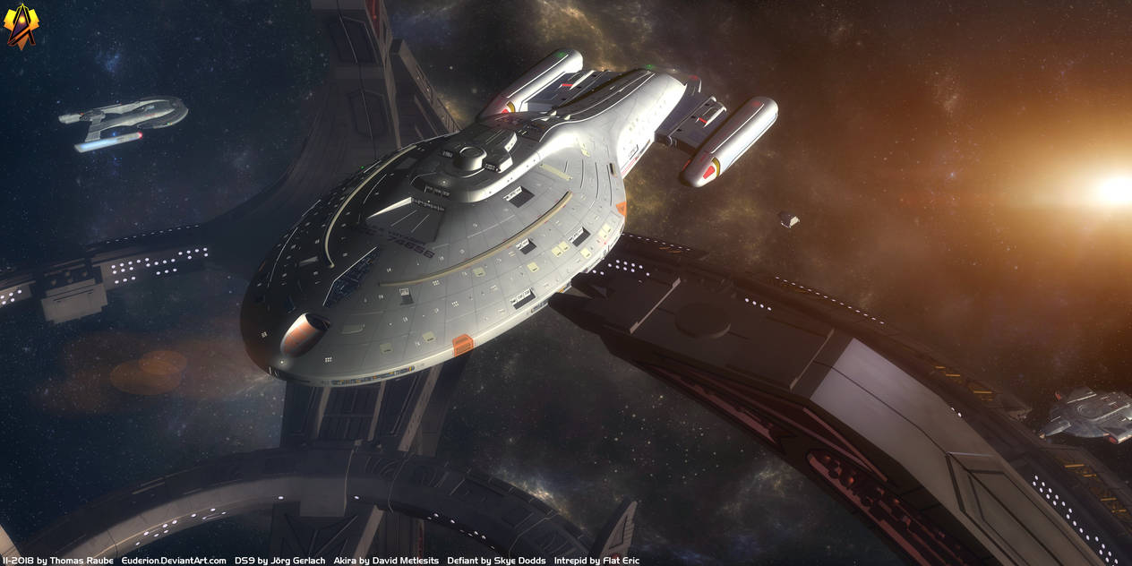 USS Voyager by Euderion
