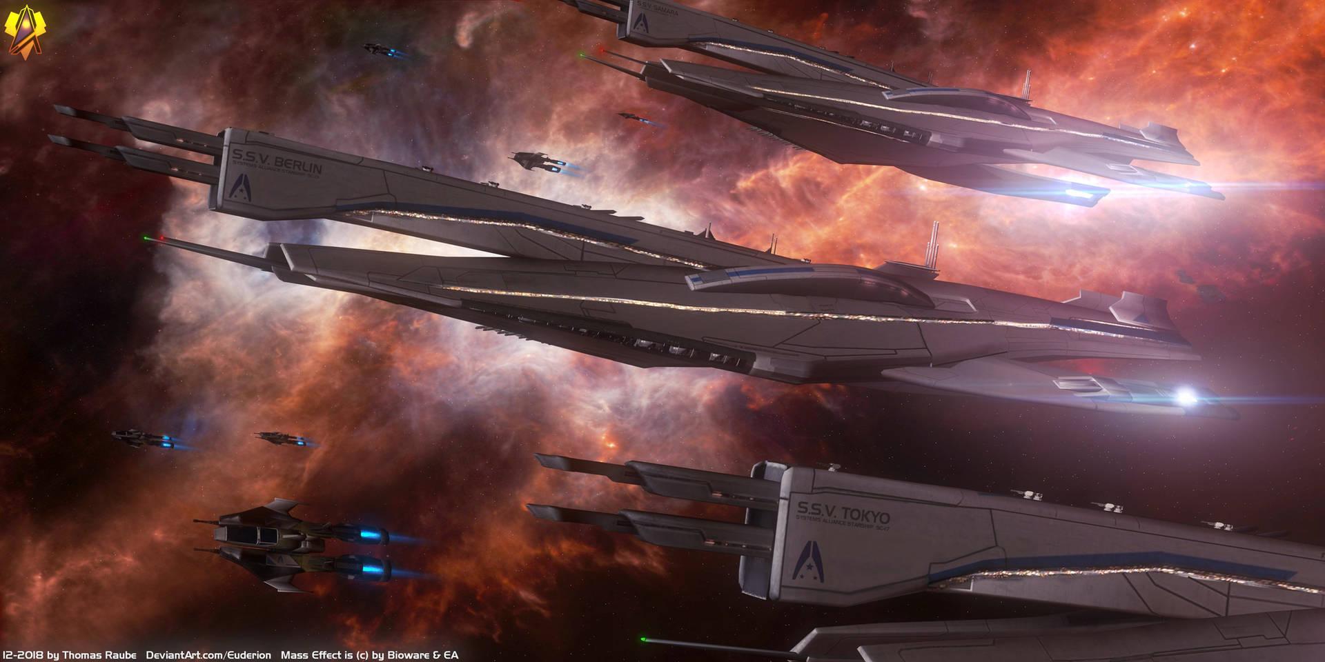 Mass Effect Berlin class Cruiser by Euderion