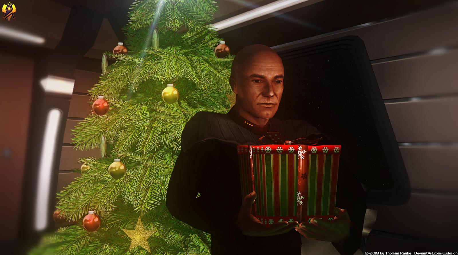 Merry Trekmas by Euderion