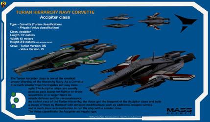 Turian Accipiter class Corvette
