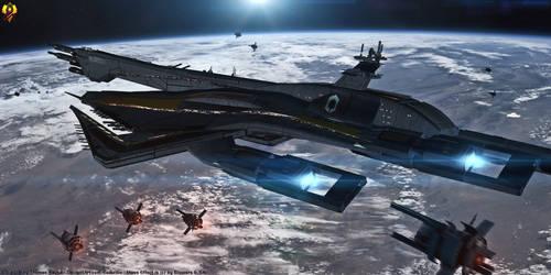 CSV Rainier - Collector Tech augmented Dreadnought by Euderion