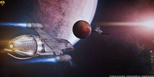 Space Truckers by Euderion
