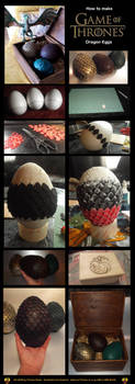 How to make Game of Thrones Dragon Eggs