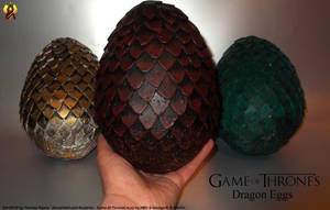 Dragon Eggs Props by Euderion