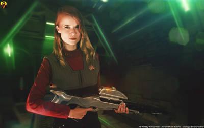 Lock'n Load - Captain Ellen Delia by Euderion