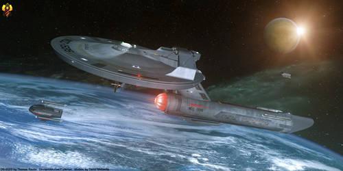 USS Apollo - Axanar Version by Euderion