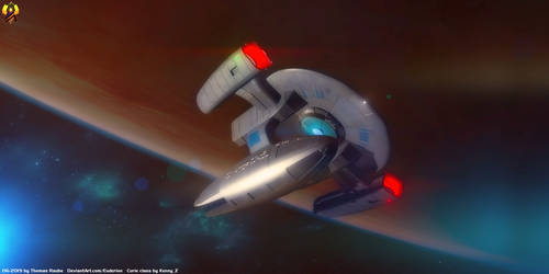 USS Curie by Euderion